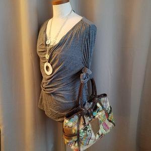 Fossil Carpet Bag Handbag